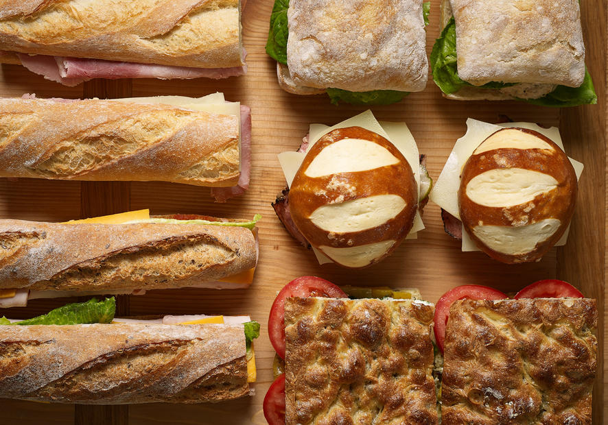 Bouchon Bakery assorted sandwiches